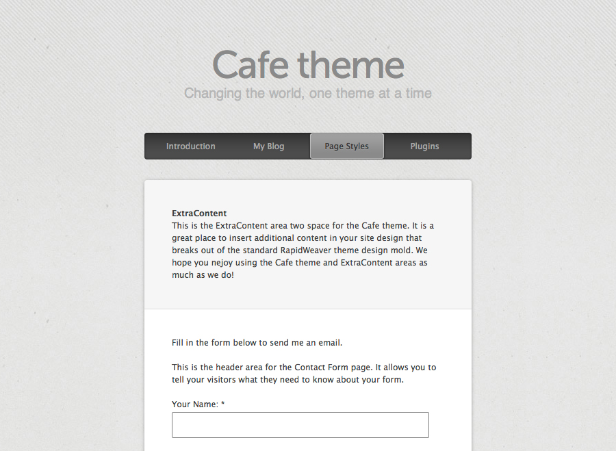 Cafe Screenshot