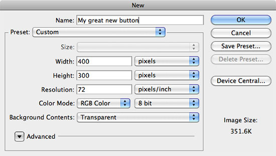 Creating simple stylish buttons in PhotoShop | Blog | Ruby Theme